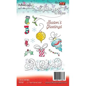 Cute as Christmas Clear Stamps (PD7357)