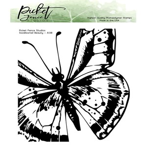 Swallowtail Beauty Clear Stamps (A-138)