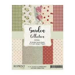 """Reprint Garden Collection 6x6 Inch Paper Pack (RPP033) Gard"