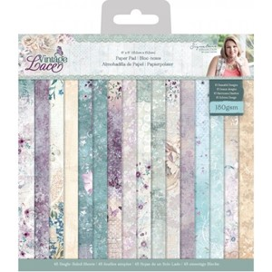 """Crafters Companion Vintage Lace 6x6 Inch Paper Pad (S-VL-PA"