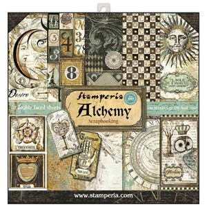 Alchemy 12x12 Inch Paper Pack (SBBL34)