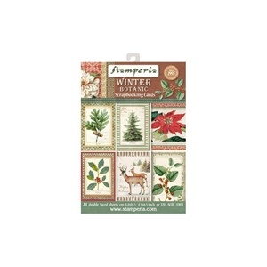 Stamperia Winter Botanic Scrapbooking Cards (SBBPC06)