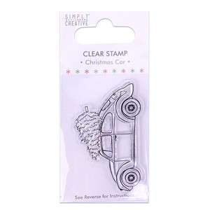 Christmas Car Clear Stamp (SCSTP006X19)