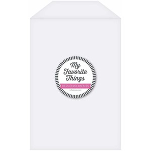 """My Favorite Things Clear Storage Pockets Extra Large (SUPPL"