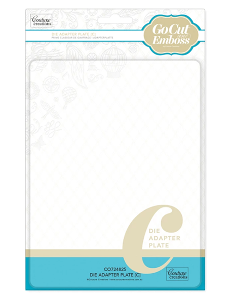 Couture Creations GoCut and Emboss C Plate (CO724825)
