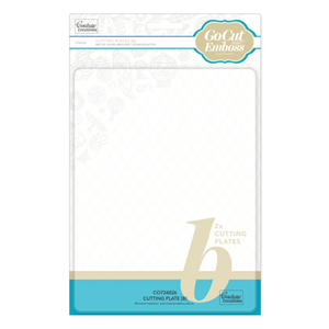 Couture Creations GoCut and Emboss B Plate (2pcs) (CO724826)