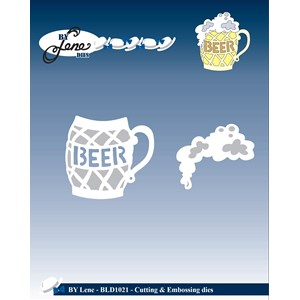 Cutting & Embossing Die / Beer Mug