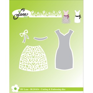 Cutting & Embossing Die / Dress