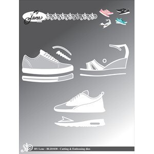 By Lene Shoes Cutting & Embossing Die (BLD1038)