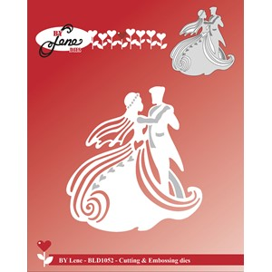 Cutting & Embossing Die / Dancing Wedding Couple