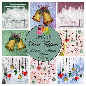 Toppers Christmas Bells (ETL011)