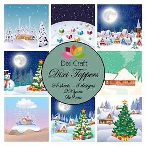 Toppers - Christmas Villages
