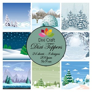 Toppers - Winter Landscapes
