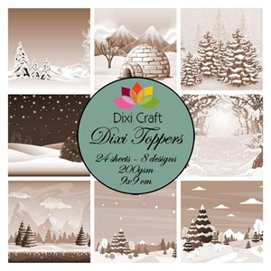 Toppers - Winter Landscapes - Brown