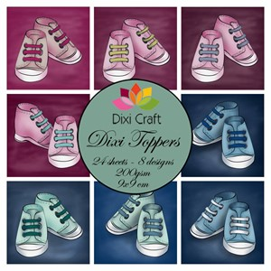 Dixi Craft Toppers Baby Shoe (ETL020)