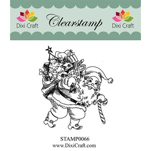 Clearstamp - Santa Claus