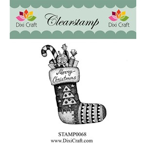 Clearstamp - Christmas Stocking