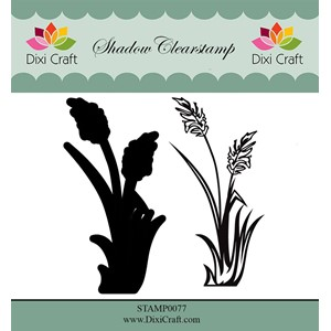 Shadow Clearstamp / Flower-2 (2 pcs)