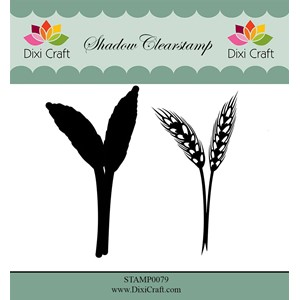 Shadow Clearstamp / Flower-4 (2 pcs)