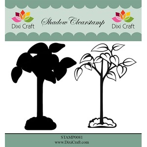 Shadow Clearstamp / Flower-6 (2 pcs)