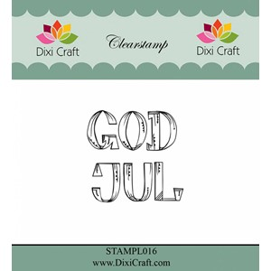 God Jul 1 Clear Stamps (STAMPL016)