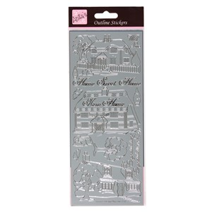 Outline Stickers - Country Cottages