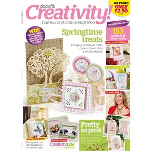 DOCRAFTS CREATIVITY! MAGAZINE - ISSUE 25 - JANUARY / FEBRUAR