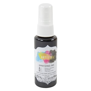 Spritzing Ink 2oz -  Black Night