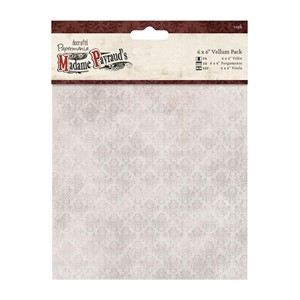 "6 x 6"""""""" Vellum Pack 10pk - Madame Payraud"