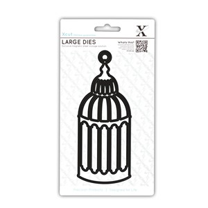 LARGE DECORATIVE DIES  - BIRDCAGE 1 1PCS