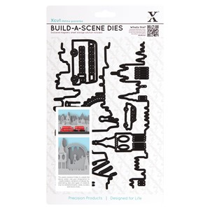 Build A Scene Dies 8pcs - London