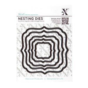 Nesting Dies - Square Parenthesis 5pcs