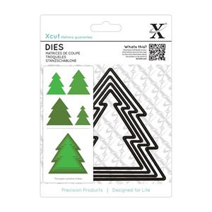 Nesting Dies 4pcs - Christmas Tree