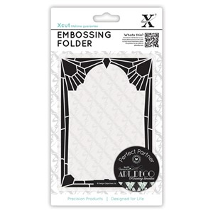 A6 Embossing Folder - Diamond Frame