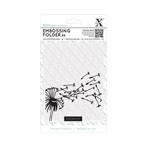 A6 Embossing Folder - Blowing Dandelions