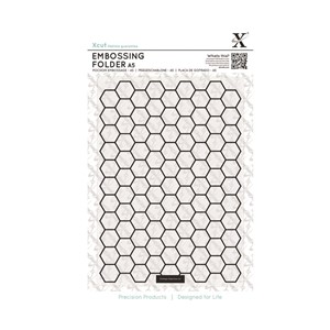 A5 Embossing Folder - Honeycomb