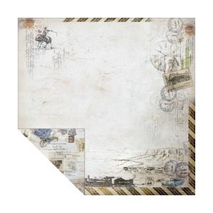 """""""""""Romantic Travel Double-Sided12 X 12  """"""""""""""""Travel Lar"