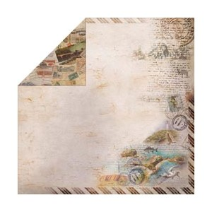 """""""""""Romantic Travel Double-Sided 12 X 12  """"""""""""""""Travel Ti"