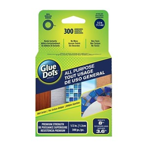 All Purpose Glue Dots - 300 count