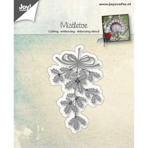 Cut-embos-debosstencil - Mistletoe of Holly - Aug.17 - 42x70