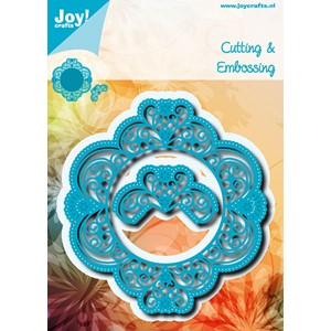 Cut-embosstencil - Ornament with carving & flowers