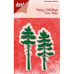 Cuttingstencil - Pine trees - Jul.17 - 95/35,5x85,5 mm