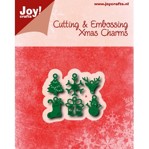 Cut-embosstencil - Christmascharms