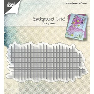 Cuttingstencil - Bille's background - Grid