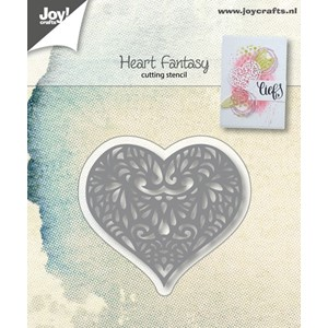 Cuttingstencil - Heart Fantasy