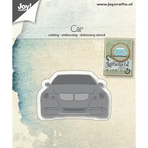Cut-embos-debosstencil - Modern car - Mar.18
