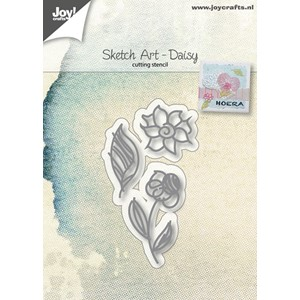 Cuttingstencils - Sketch Art - Daisy
