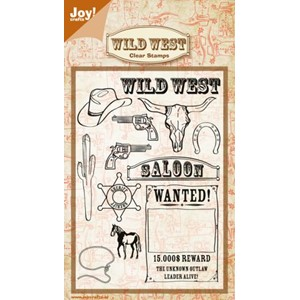 Clear stamps - wild west (105x148 mm)