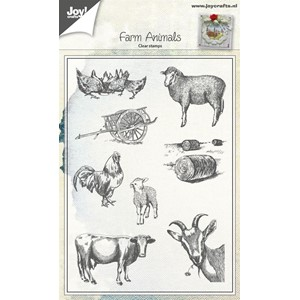 Stamps, Farm Animals - Jul16