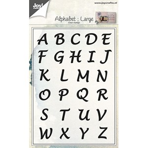 Clearstamp - Alphabet Uppercase
